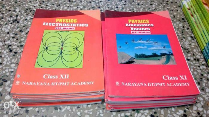 IIT jee preparation material of narayana for Sale in Ballabgarh