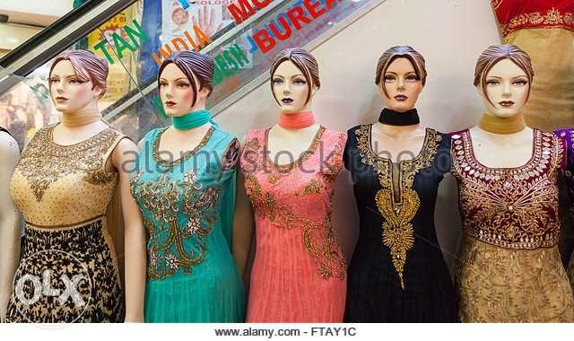 Indian mannequin brand new in half price