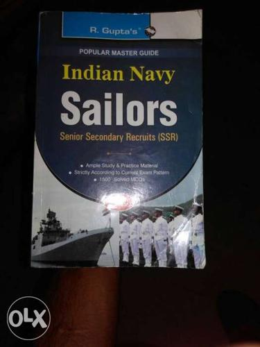 Indian navy preparation book latest edition