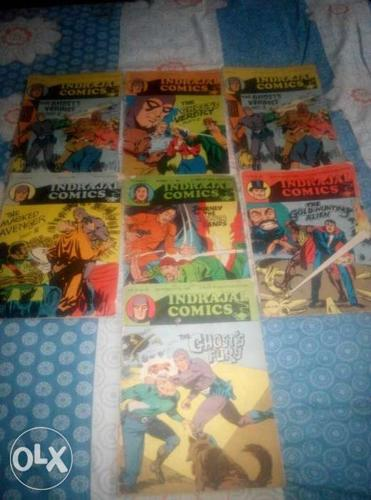 Indrajal comics in English,Tintin Bengali,Nonte for Sale in