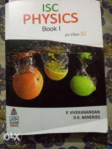 ISC Physics Book 1 Textbook