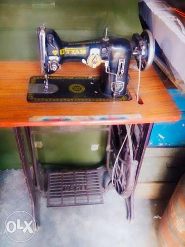 It is a sewing machine with stand.. it can be