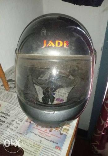 Jade helmet. One year used.