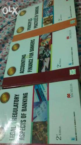 JAIIB Macmillan Books (Complete set of three books)