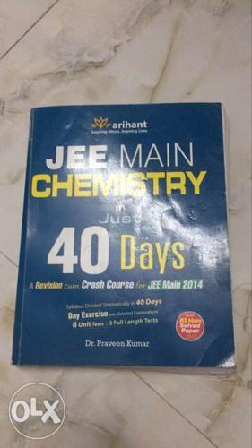 Jee main chemistry in 40 days