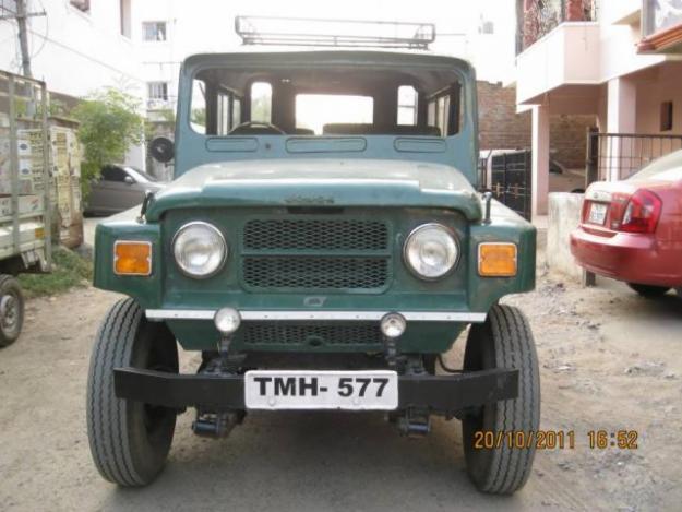 jonga nissan jeep mm540