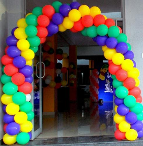 Kids birthday party organisers balloon decorators for Balloon decoration in bangalore
