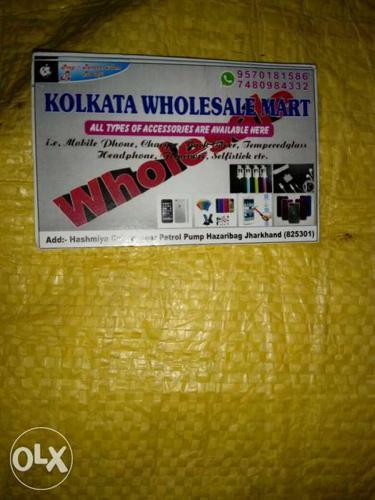 Kolkata Wholesale Mart Business Card