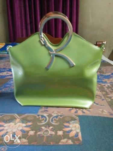 Light green stylish purse