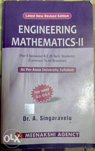 List of engineering mathematics books