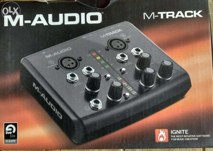 M Track External Sound Card
