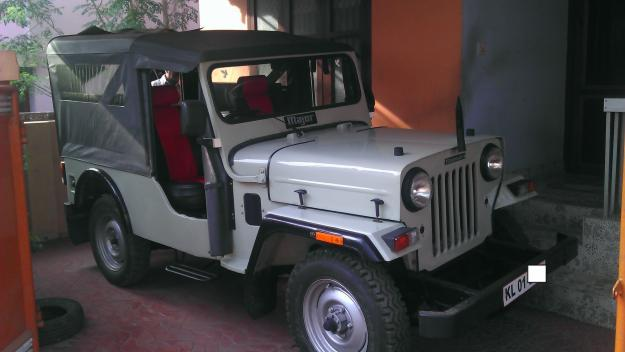 mahindra jeep 4 wheel drive