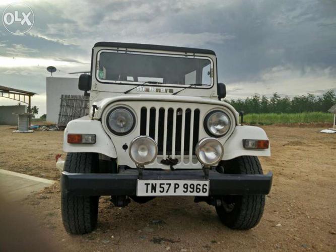 Mahindra Jeep 4x4 For Sale In Tirupur Tamil Nadu Classified