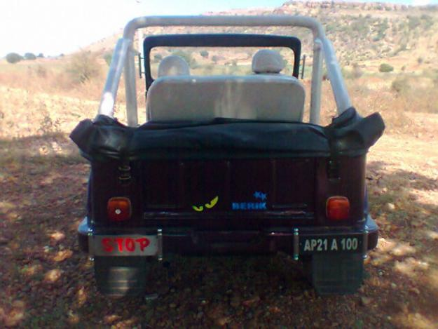 MAHINDRA MM 540 MODIFIED JEEP