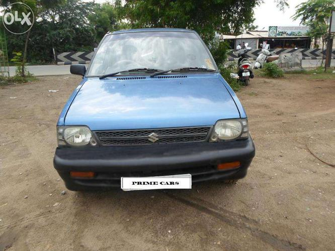 Maruti 800 Model 2007 Blue Colour Reg Tn25 2nd Owners For Sale In