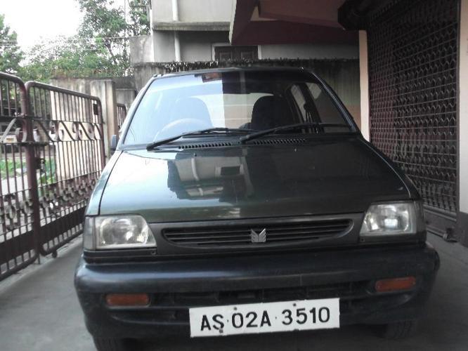 Maruti 800 Std. Car Model 2000(EURO I)  in Excellent