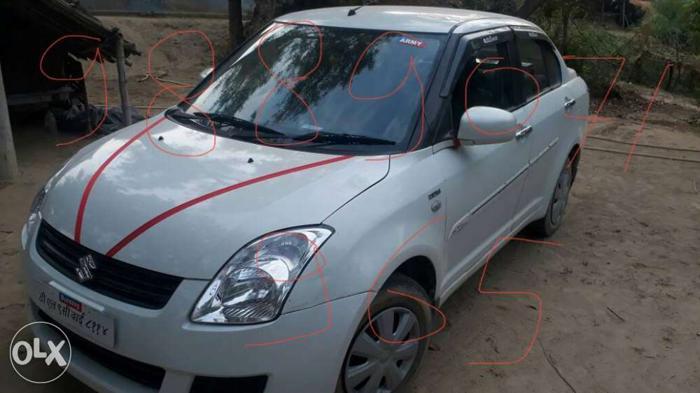 Maruti Suzuki Swift Dzire petrol 79453 Kms 2010 year