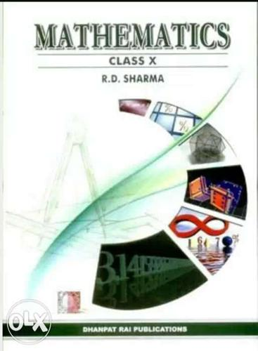 Mathematics Class X By R.D Sharma Book