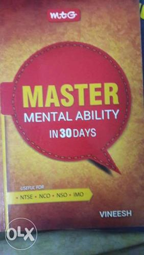 Mental Ability in 30 Days MTG for NTSE NCO NSO IMO