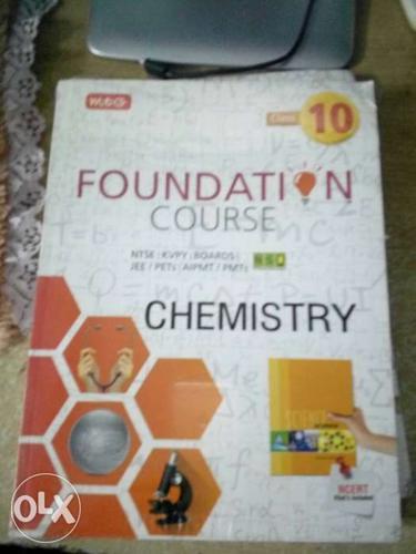 MTG book of chemistry for ntse kvpy jee and meet