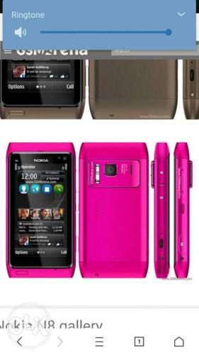 Mujhe Nokia N8 dead set chahiye