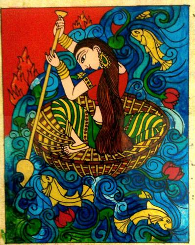 Mural glass painting for sale in kannur kerala classified for Mural glass painting