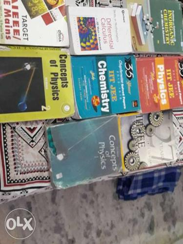 Must have books for jee advanced