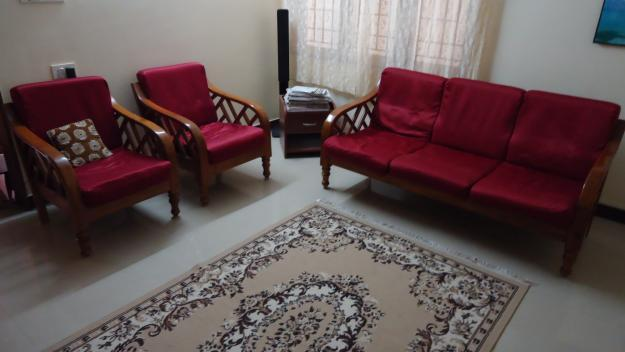 Mysore teak sofa set tv stand bookshelf corner table for sale in bangalore karnataka Home furnitures bengaluru karnataka