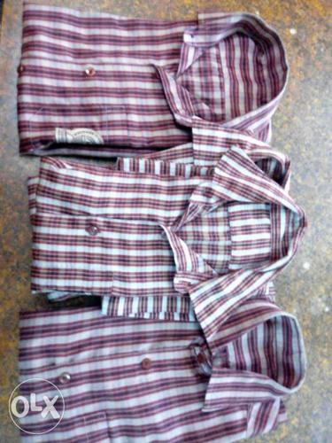 Narayana school shirts. 2 for about 6th class and