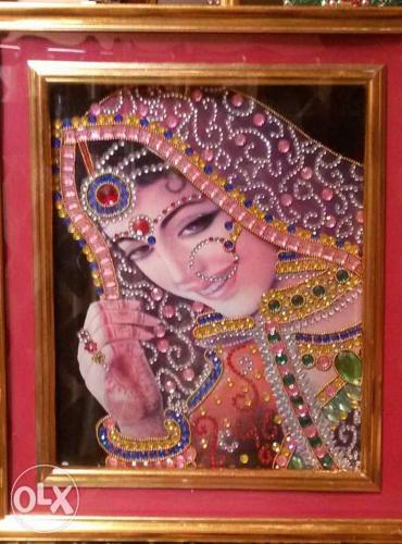 Nav-Vadhu handmade painting