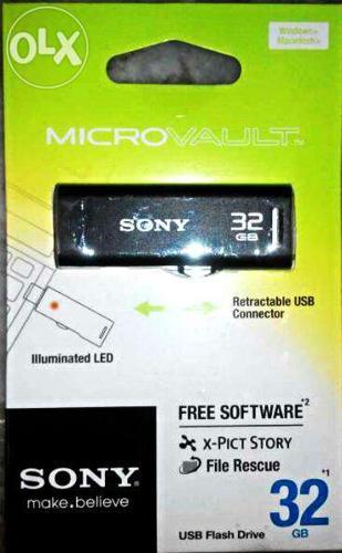 New 32GB Sony Pendrive