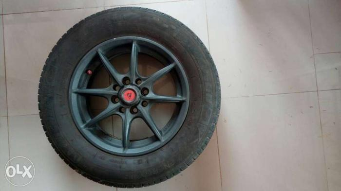 New Alloy wheels with tyre for sale