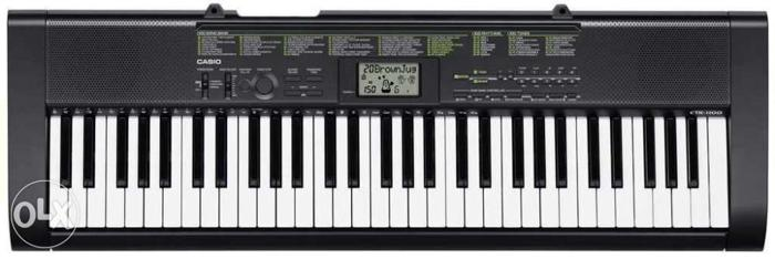 New casio and available with all accessiories