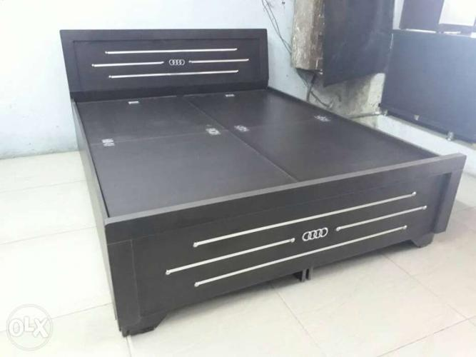 New double bed with storage size 5×6 only for