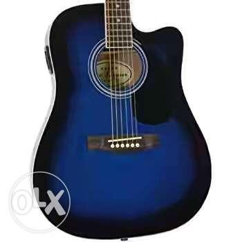 New guitar in wholesale price with one year
