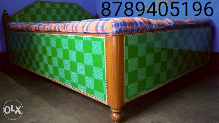 New manufacturing double box bed. Size - 5/6.5ft,