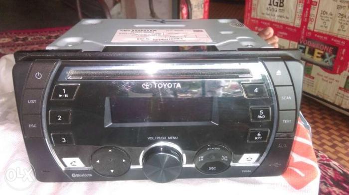 New origina music system toyota DVD player bluetooth