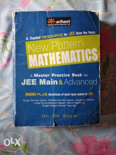 New Pattern Mathematics for JEE aspirants.