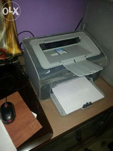 New printer only one month used