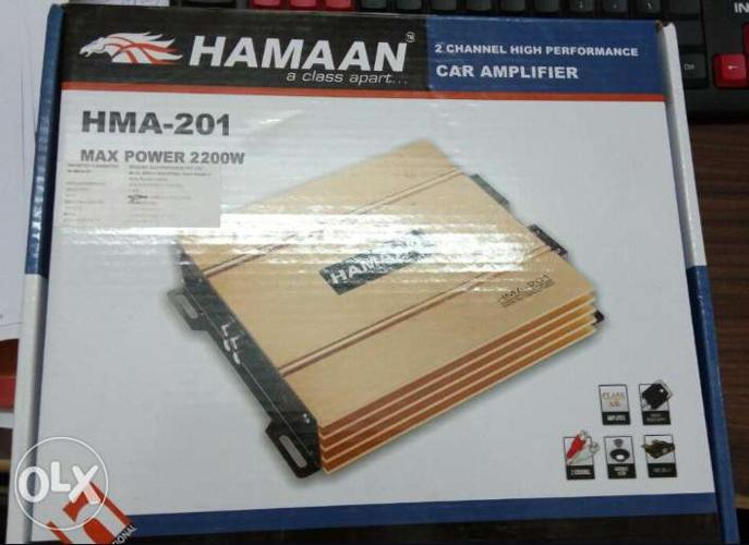 New Product Sale Hamaan 2 channel Amplifier in Cheap Price