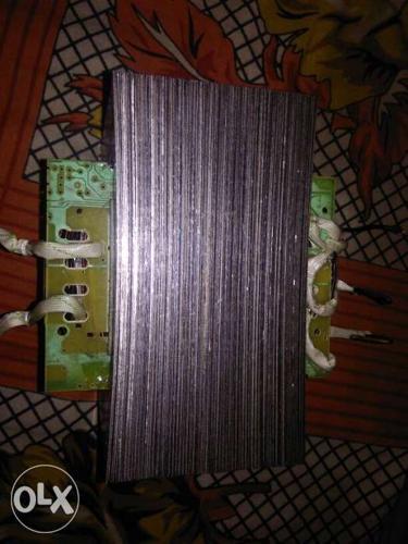 New transformer home made . input 260 volt ac .