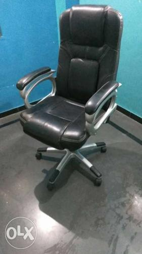 Office chair very good condition i bought it at14000