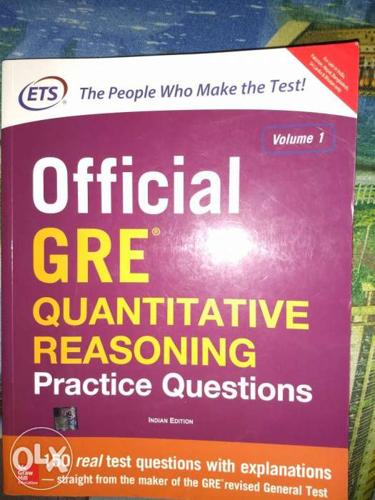 Official GRE Quants Book by ETS brand new