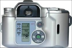 Olympus iS 500 semi SLR camera