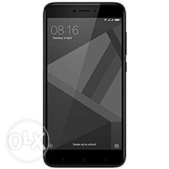Only 1 Day Redmi 4 Black 3gb ram n 32 GB internal
