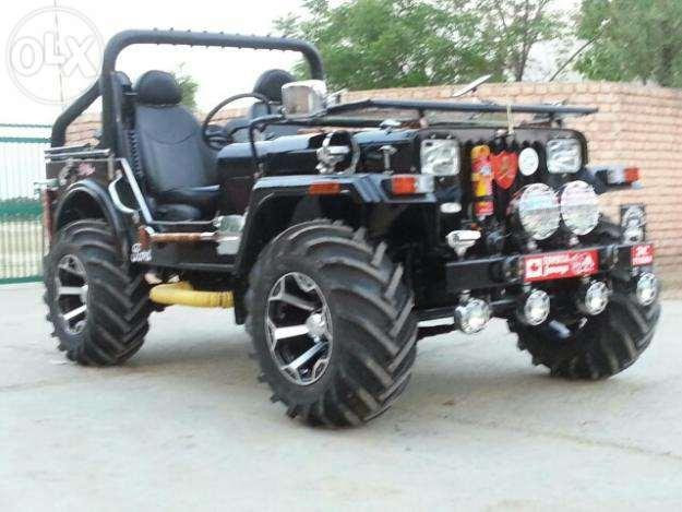 Open And Modify Jeep On Order In Haryana For Sale In