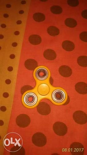 Orange Hand Spinner