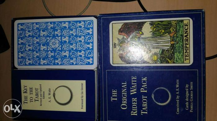 Original imported Tarot Card and guide book from