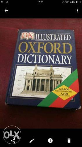 Oxford Dictionary Book Screenshot