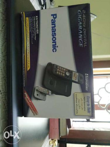 Panasonic cordless phone with caller ID..PERFECT